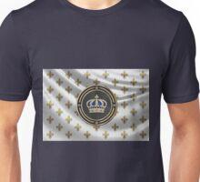 Royal Crown of France over Royal Standard  Unisex T-Shirt
