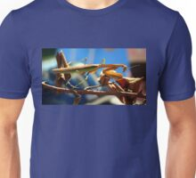 Praying Mantis on a Stick Unisex T-Shirt