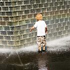 Fascination - Crown Fountain in Millennium Park. Chicago, Ill. by Mike Koenig