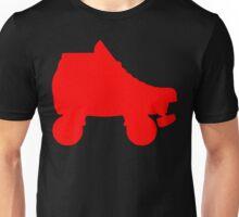 red rollerskate Unisex T-Shirt