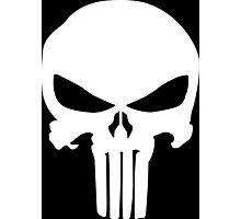 Punisher skull Photographic Print