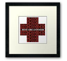 MASH Best Care Anywhere Framed Print