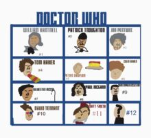Doctor Who: 50 Years Through Time and Space One Piece - Short Sleeve