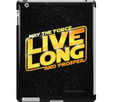 Live Long Forcefully iPad Case/Skin