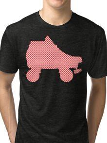 heart skate Tri-blend T-Shirt