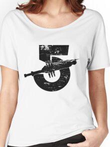 Babylon 5 Vintage (Black) Women's Relaxed Fit T-Shirt