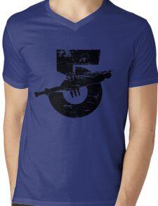 Babylon 5 Vintage (Black) Mens V-Neck T-Shirt