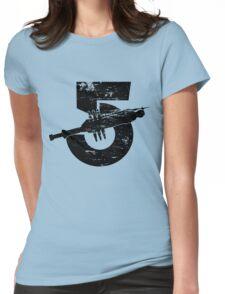 Babylon 5 Vintage (Black) Womens Fitted T-Shirt