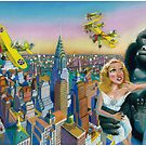 KING KONG 1933 by colortown