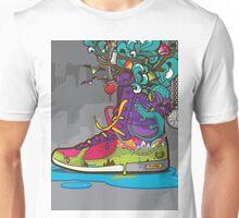 Nature Converse Shoe Unisex T-Shirt