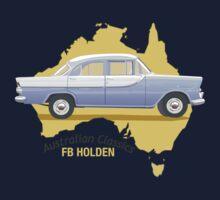 FB Holden - Classic Australian cars Kids Tee