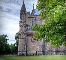 St Albans Abbey by Mark Thompson