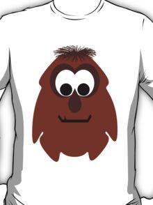 Silly Little Dark Red Monster T-Shirt