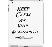 Keep calm and Ship Thilbo iPad Case/Skin