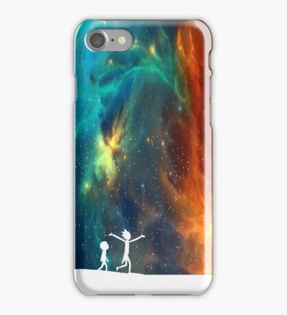 Rick and Morty - Star Viewing 3 iPhone Case/Skin
