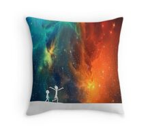 Rick and Morty - Star Viewing 3 Throw Pillow