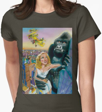 KING KONG 1933 Womens Fitted T-Shirt