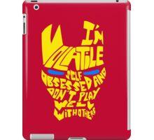 Volatile.. iPad Case/Skin