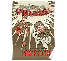 Socktacular Spider-Monkey Poster
