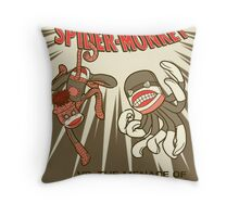 Socktacular Spider-Monkey Throw Pillow