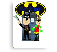 Bat Who Canvas Print