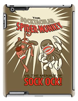 Socktacular Spider-Monkey by MrNoon