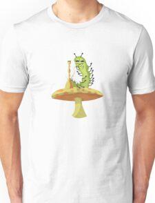 Hookah Smokin' Caterpillar Unisex T-Shirt
