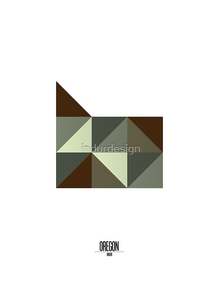 Oregon Geometric by indurdesign