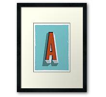 A Framed Print