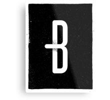 B Metal Print