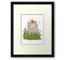 Purrfect Day Framed Print