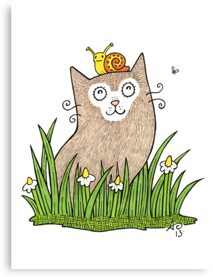 Purrfect Day by Anita Inverarity