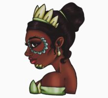 Day of the Dead Tiana - The Princess and the Frog by HungryDesigns