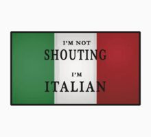 I'm ITALIAN by Grimwood