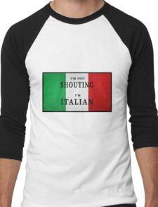 I'm ITALIAN Men's Baseball ¾ T-Shirt