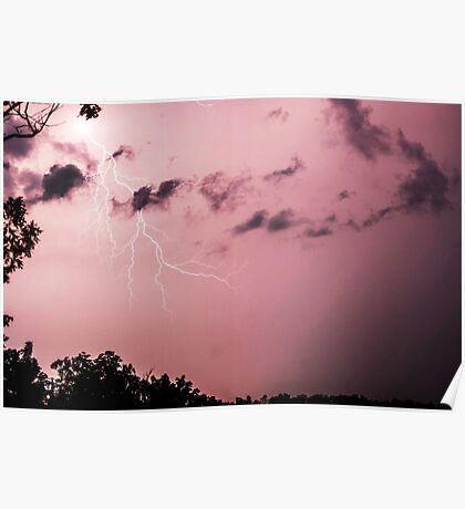 Missouri Early Summer Storm Poster