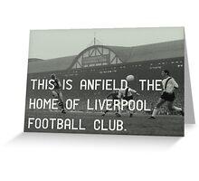 Liverpool Football Club Greeting Card