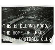 Leeds United Football Club Poster