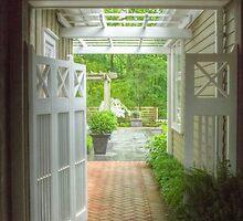 The Garden Entrance Flourish by Marilyn Cornwell