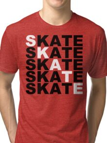 skate stacks Tri-blend T-Shirt