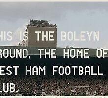 West Ham Football Club by homework
