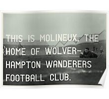 Woverhampton Wanderers Football Club Poster