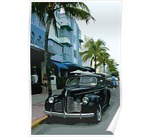 Vintage Miami Poster