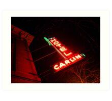 Hotel Carlin Art Print