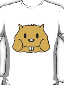 Cute Hamster Face T-Shirt