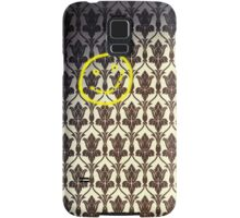 Smiley with Bullet Holes Samsung Galaxy Case/Skin