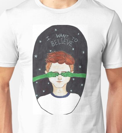 X-files fan art Unisex T-Shirt