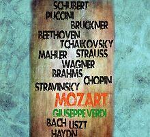 Classical Composers by Gunter Nezhoda