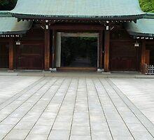 Meiji Shrine Path No. 2  by Robert Meyers-Lussier