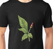Chilly plant 2- red fruits Unisex T-Shirt